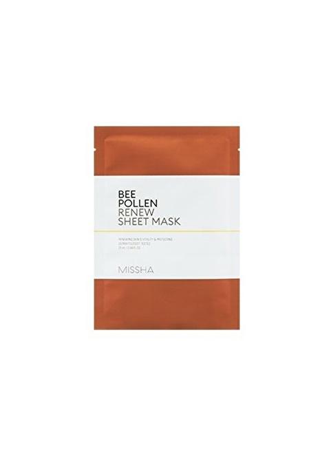 Missha Bee Pollen Renew Sheet Mask Renksiz